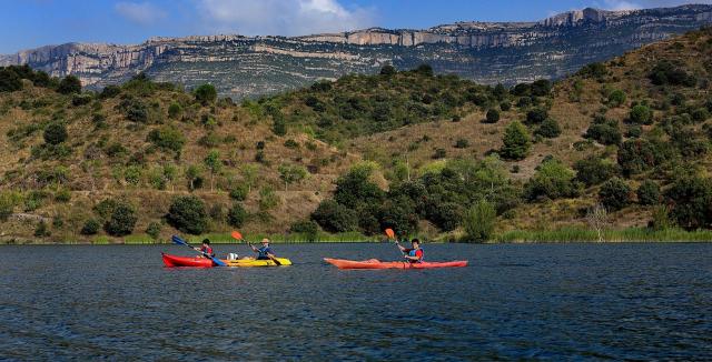Kayak pel pantà de Siurana