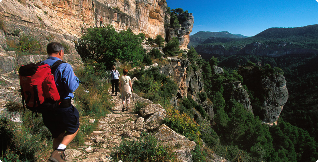Rutas de senderismo en Siurana, Priorat