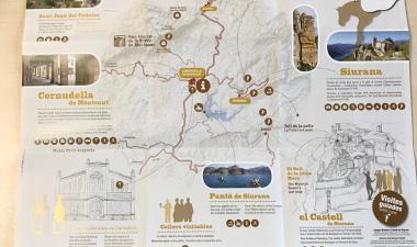 mapa guia Cornudella-Siurana