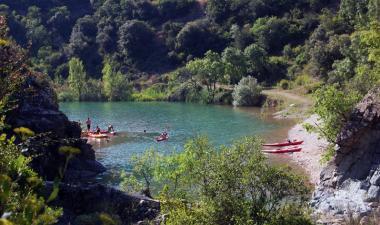 kayak pantà siurana
