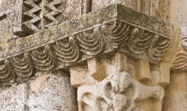 Detall del capitell arcada