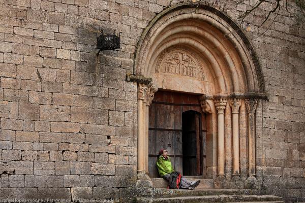 Arc església de Siurana.