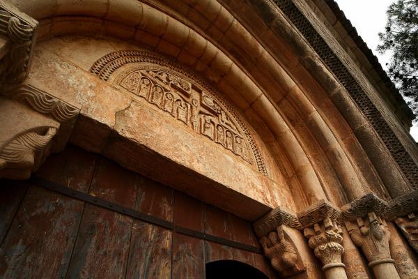 Detalls església Siurana.