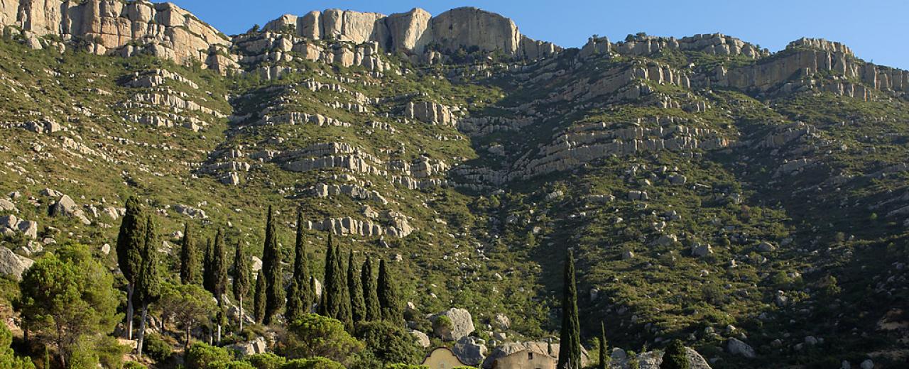 Ermita Sant Joan del Codolar. Montsant.