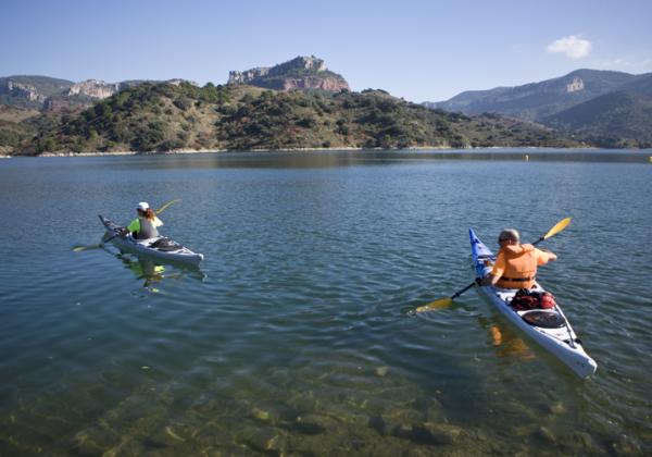 kayac pantà Siurana